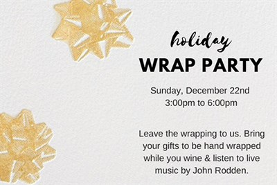Wrap Party Invitation