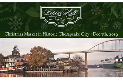 Pell Gardens, the site of Poplar Hall Christmas Market