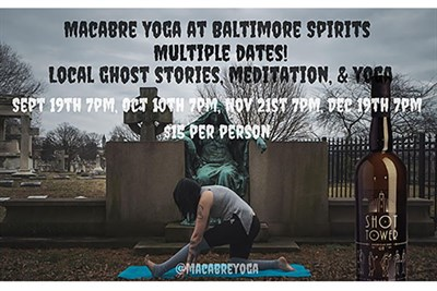 Yoga at Green Mount Cemetery