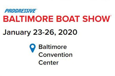 Baltimore Boat Show poster