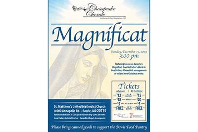 Magnificat Show poster
