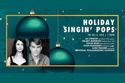 Holiday Singin' Pops  poster