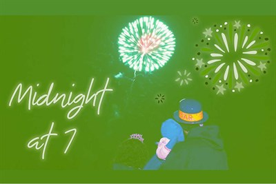 Walk through the Lights with fireworks at 7pm!