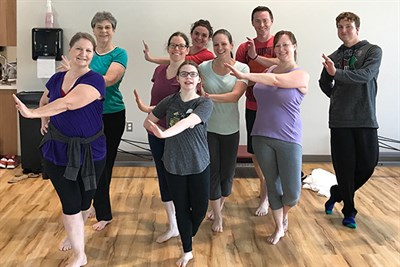 Modern Dance Class at Perkins Family YMCA