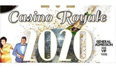New Year's Eve Casino Royale poster
