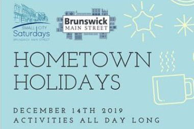 Hometown Holidays in Brunswick poster