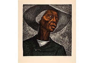 Sharecropper © Catlett Mora Family Trust / VAGA at Artists Rights Society (ARS), NY / The Art Instit