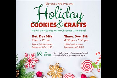 Holiday Cookies & Crafts poster