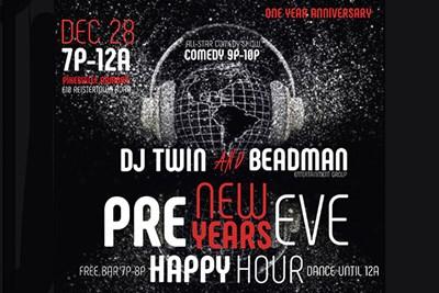 DJ Twin and Beadman Presents Poster