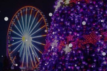 Holiday Lights at National Harbor