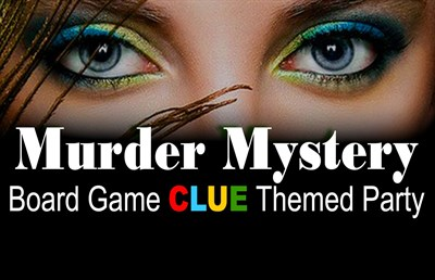 Clue Themed Murder Mystery Event