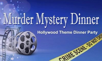 Hollywood Themed Mystery Party poster