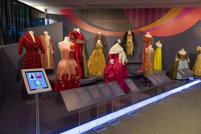 Spectrum of Fashion exhibit.