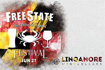 FreeState Beer, Wine & Seafood Festival at Linganore Winecellars