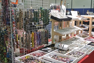 Bead and Jewelry Display