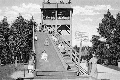 Braddock Heights slide.