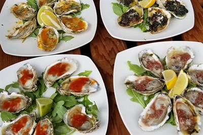 Heritage Solo Valentine Tasting with Oysters