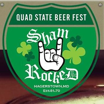 Quad State Beer Fest - Shamrocked logo