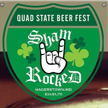 Quad State Beer Fest - Shamrocked logo