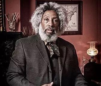 Nathan Richardson as Frederick Douglass