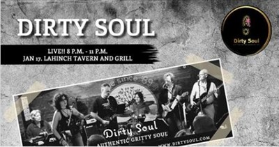 Dirty Soul band poster