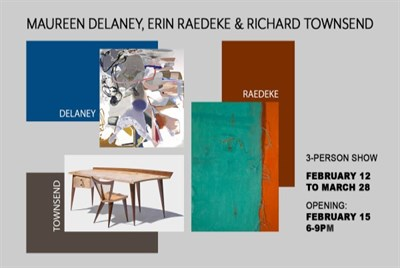 Delaney, Raedeke, Townsend Exhibition