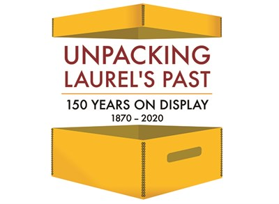 Unpacking Laurel's Past logo