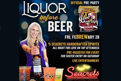 Love on Tap pre party at Seacrets