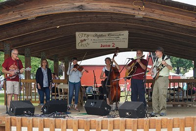 896 Southbound at Deer Creek Fiddlers' Convention