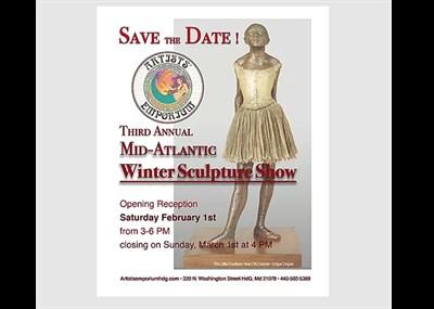2020 Sculpture Show poster