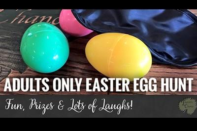 Adult Only Easter Egg Hunt poster