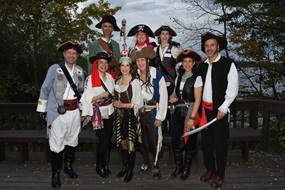 People dressed as pirates