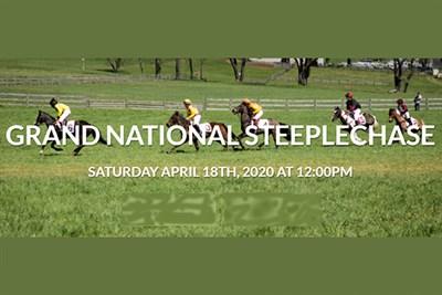 Grand National Steeplechase poster