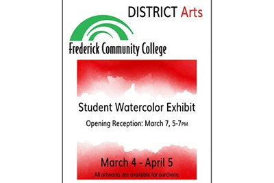 District Arts poster