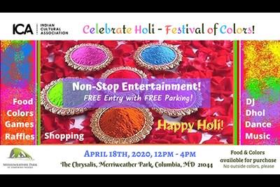 Celebrate Holi - the Festival of Colors