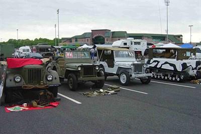 Military Vehicle Display & Army Navy Surplus Market