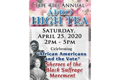 The Afro High Tea poster