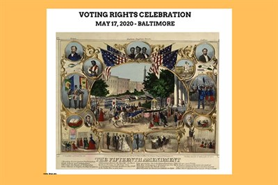 Voting Rights Celebration poster