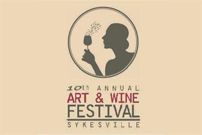 Art and Wine Festival Sykesville logo