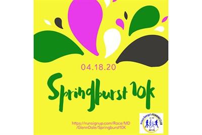 PGRC Springburst 10K poster