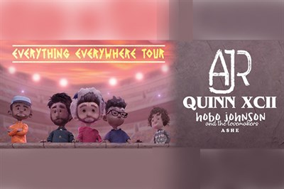 AJR with Quinn XCII Everything Everywhere Tour poster