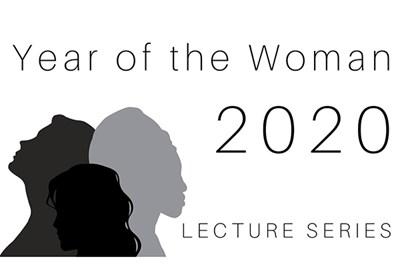 Year of the Woman Lecture Series logo