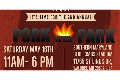 Southern Maryland Pork in the Park poster