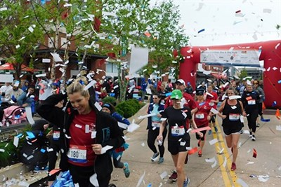 America's VetDogs 5K Runners