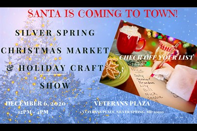 Christmas Market and Holiday Craft Fair poster