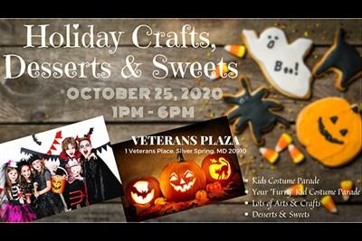 Crafts, Desserts & Sweets Festival poster