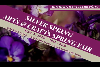 Mother's Day Arts & Crafts Spring Fair poster
