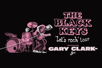 The Black Keys 'Let's Rock Tour' poster