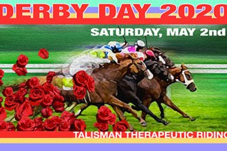 Derby Day at Talisman Farm poster