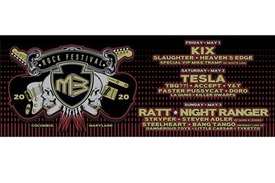 M3 Rock Festival 2020 Flyer